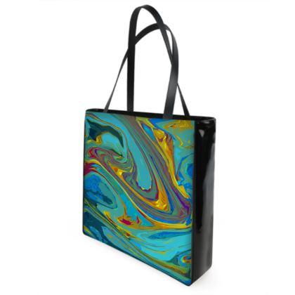 Shopper Bags - Abstract Diesel Rainbow 1