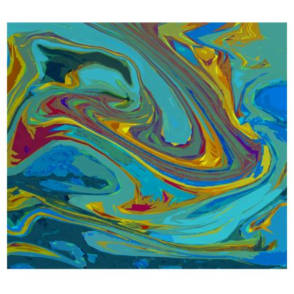 Mens Wallet - Abstract Diesel Rainbow 1