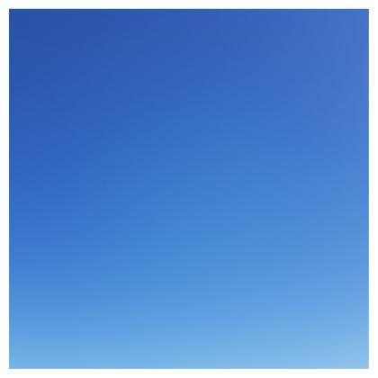 Skirt, Blue Sky