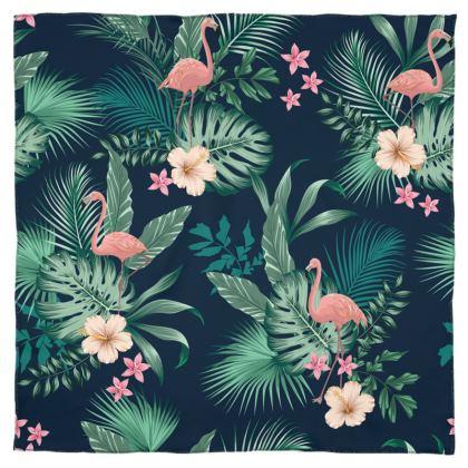 Scarf Wrap/Shawl Tropical Pink Flamingo