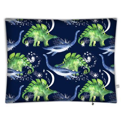 Floor Cushions Golden Split Leaf