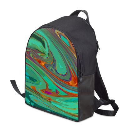 Backpack - Abstract Diesel Rainbow 2