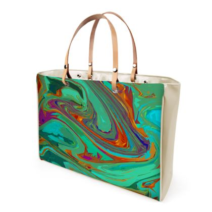 Handbags - Abstract Diesel Rainbow 2