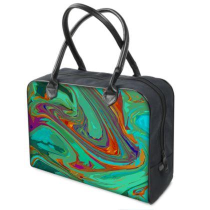 Holdalls - Abstract Diesel Rainbow 2