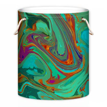 Laundry Bag - Abstract Diesel Rainbow 2