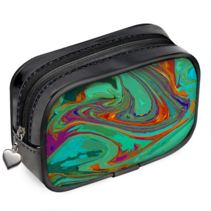 Pouch Purse - Abstract Diesel Rainbow 2