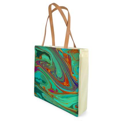 Shopper Bags - Abstract Diesel Rainbow 2