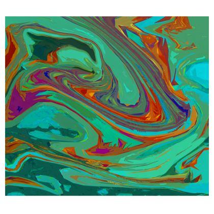 Mens Wallet - Abstract Diesel Rainbow 2