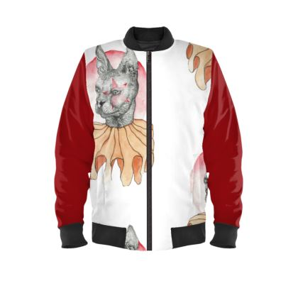 """Little Joker"" Mens Bomber Jacket"