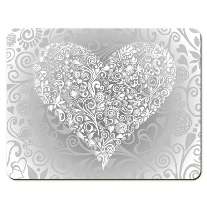 Placemats - Love Heart Pattern