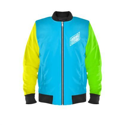 Boring Clothing Uk Multicoloured Unisex Bomber Jacket