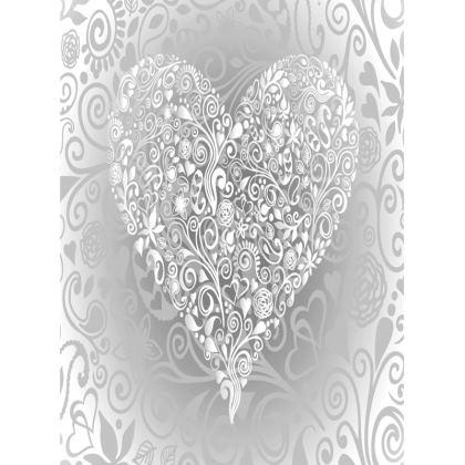 Tray - Love Heart Pattern