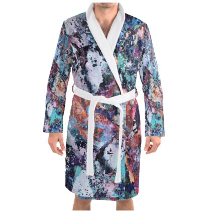 Dressing Gown Watercolor Texture 14