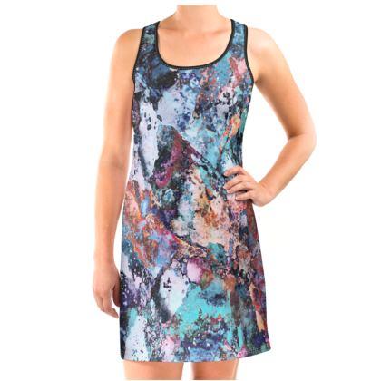 Vest Dress Watercolor Texture 12