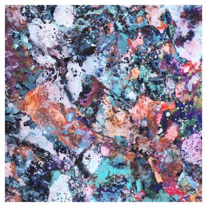 Skater Dress Watercolor Texture 12