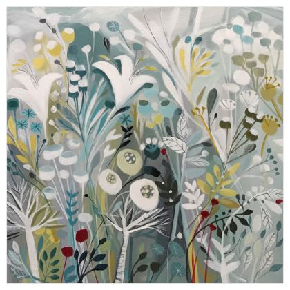 Curtains in Natalie Rymer Winter Greys design