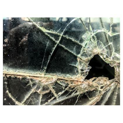 Break Glass Shaving Bag