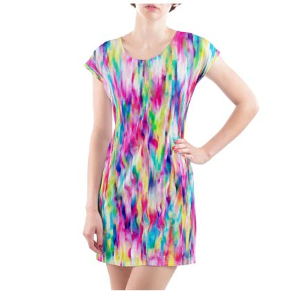 Summer festival Ladies T Shirt dress