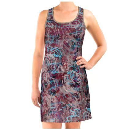 Vest Dress Watercolor Texture 16