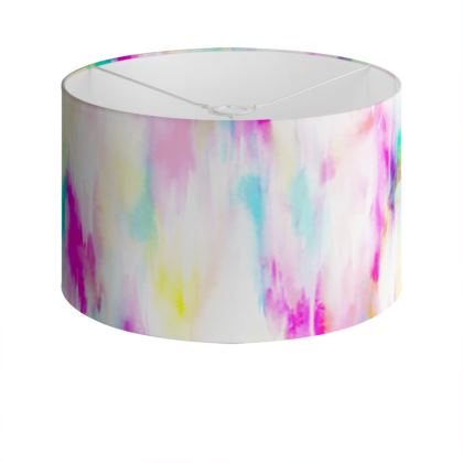 Spring flow Drum Lamp Shade