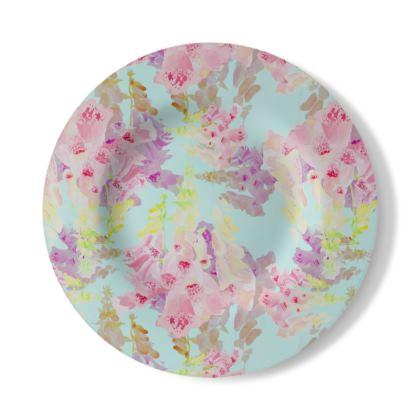 Decorative Plate  Moonlight  Morning
