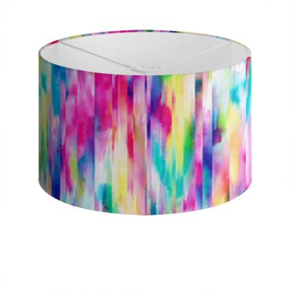 Summer festival Drum Lamp Shade