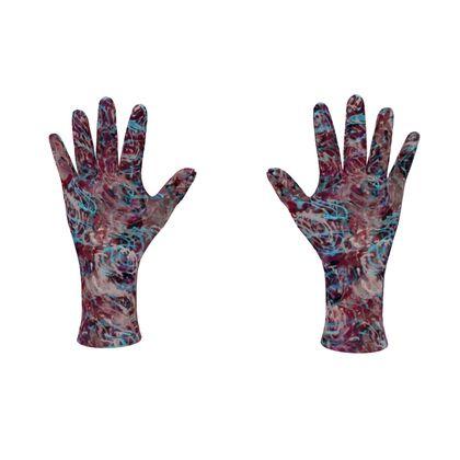 Fleece Gloves Watercolor Texture 16