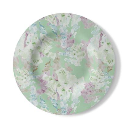 Decorative Plate  Moonlight  Meadow
