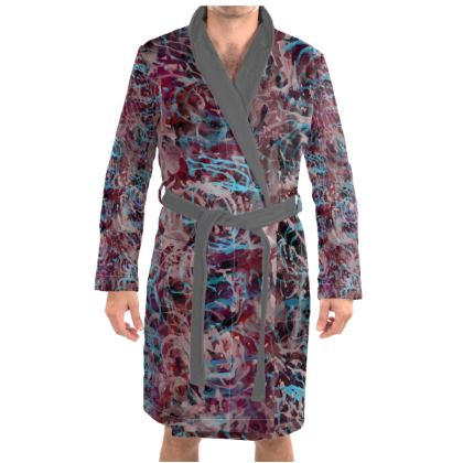 Dressing Gown Watercolor Texture 16
