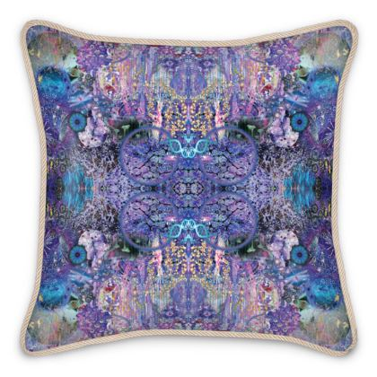 Purple Haze Silk Cushion