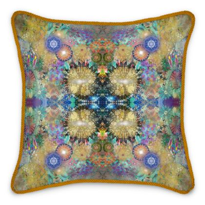 Song of the Andara Silk Cushion