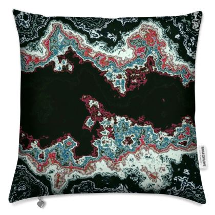 marble mess Cushion