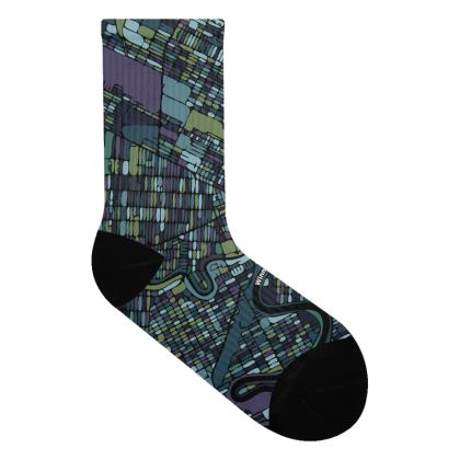 WPG Map STEEL REFLECTIONS Socks