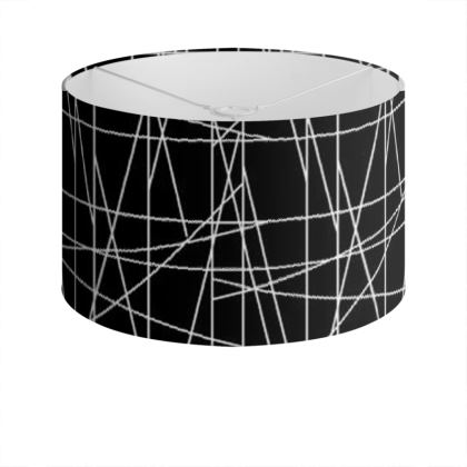 Minimal Art Drum Lamp Shade