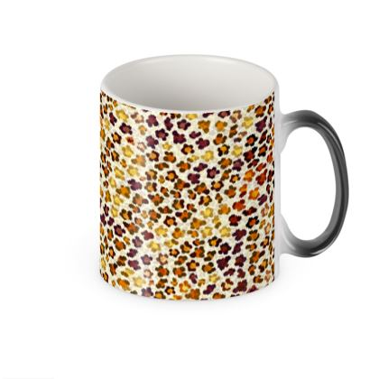 Leopard Skin Collection Heat Changing Mug
