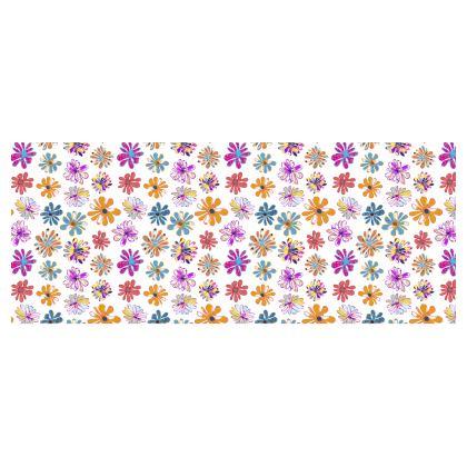 Rainbow Daisies Collection On White Heat Changing Mug