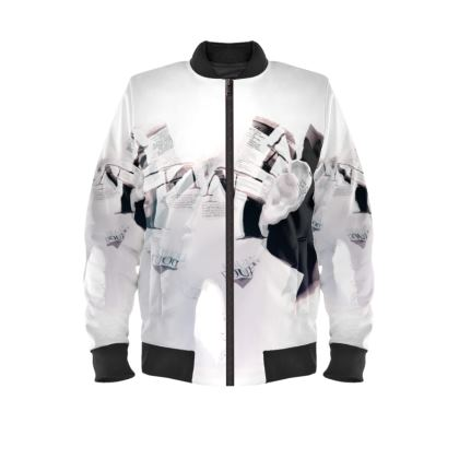 Kiss and Tell - Mens Bomber Jacket
