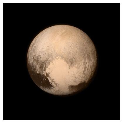 Cushions: Pluto