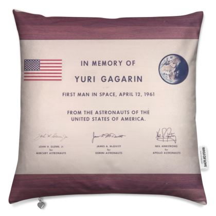 Cushions: The First Man in Space