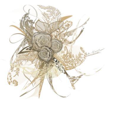 Tunic, T Shirt dress - Tunika, T-shirt klänning - 50 shades of lace white