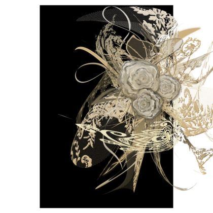 Tunic, T Shirt Dress – Tunika, T-shirt klänning - 50 shades of lace black