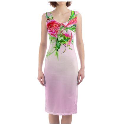 Bodycon dress - Fodralklänning - Pastells Pink