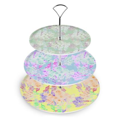 Cake Stand  Moonlight  Meadow, Afternoon, Foxglove