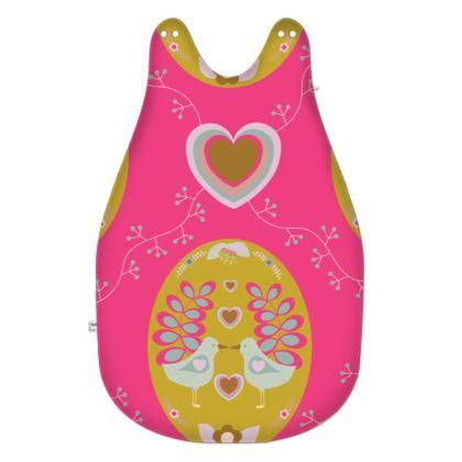 Hot Pink Little Bird Baby Sleeping Bag