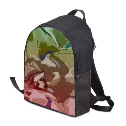 Backpack - Honeycomb Marble Abstract 2
