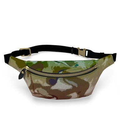 Fanny Pack - Honeycomb Marble Abstract 2