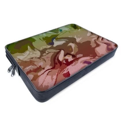 Laptop Bags - Honeycomb Marble Abstract 2