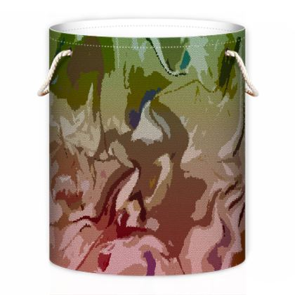 Laundry Bag - Honeycomb Marble Abstract 2