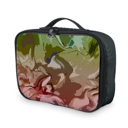 Lunch Bags - Honeycomb Marble Abstract 2