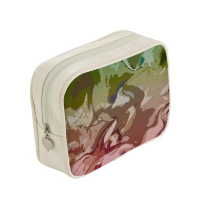 Make Up Bags - Honeycomb Marble Abstract 2